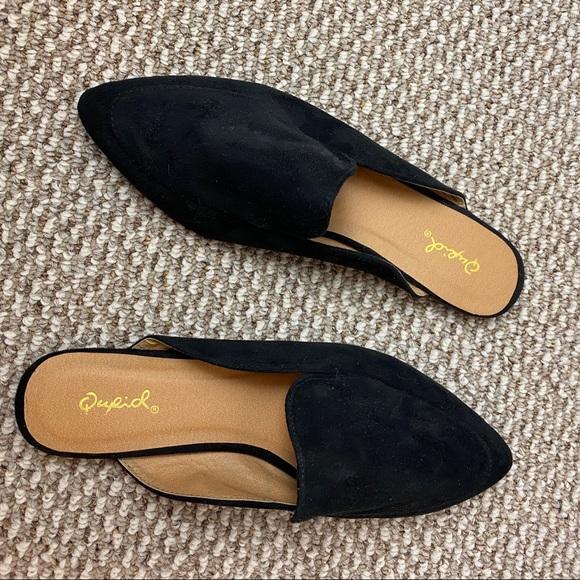 Qupid Shoes | Qupid Black Pointed Toe